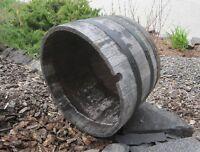 Oak Barrel Planter
