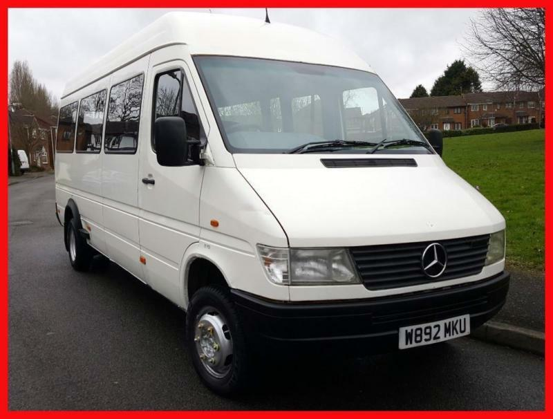 bbf38c83bb Mercedes-Benz SPRINTER 410D + TWIN WHEELS + LWB + HIGH ROOF MINIBUS ...