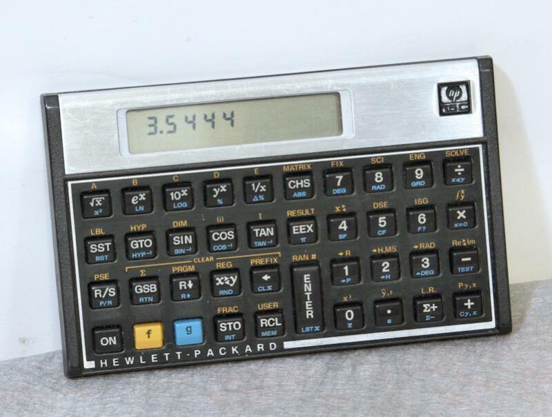 Vintage Hewlett-Packard HP-15C Scientific Calculator USA