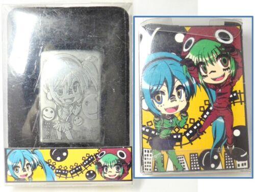 VOCALOID Hatsune Miku Amusement Prize Oil Lighter Unfired Rare          080205F8