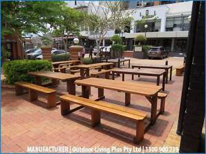 Picnic benches, wooden picnic tables, outdoor picnic tables Melbourne Region Preview