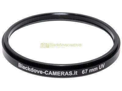 67mm. filtro UV Blackdove-cameras Lente ultravioletto per obiettivi 67 mm Filter