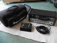 Hughes & Kettner Tubemeister 18 amp head and FS-2 footswitch