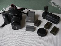 Canon EOS20D DSLR with extras