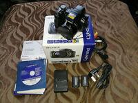 Sony DSC - HX1 Cybershot digital zoom camera