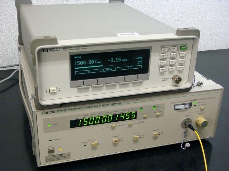 ANRITSU MF9630A 600-1600nm Optical Wavelength/Frequency Counter