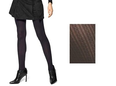 Hue Women's Tights Cable Control Top Tights  S/M, (Cable Womens Tights)