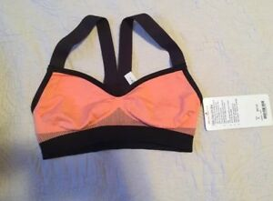 NWT Lululemon Hold Your Om Bra Coral Size 6