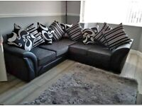 SHANNON sofa CORNER OR 3+2 SEATER SOFA SET AVAILABEL IN STOCK