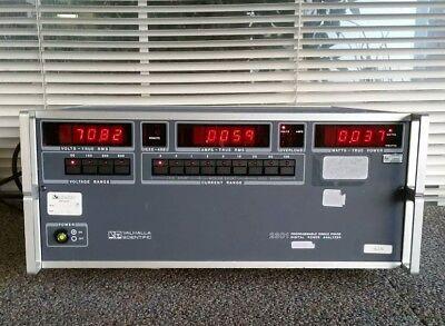 Valhalla Scientific 2301 Single Phase Digital Power Analyzer - Free Shipping