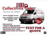 MAN AND VAN MANCHESTER from £13 single item pickup from £40 House/flat moves