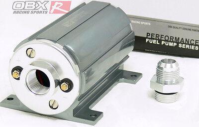 OBX Universal External Electrical Fuel Pump  2100HP EFI Polish 1000Lb Gray