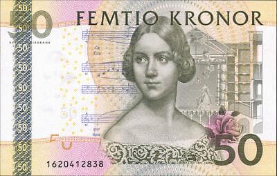 Schweden / Sweden 50 Kronen 2006 Pick 64 (1) Jenny Lind