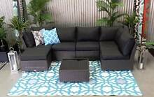 OUTDOOR 7 piece MUTLI WAY deluxe model modular sofa set Hendon Charles Sturt Area Preview