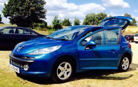 Peugeot 207 2008 low mileage