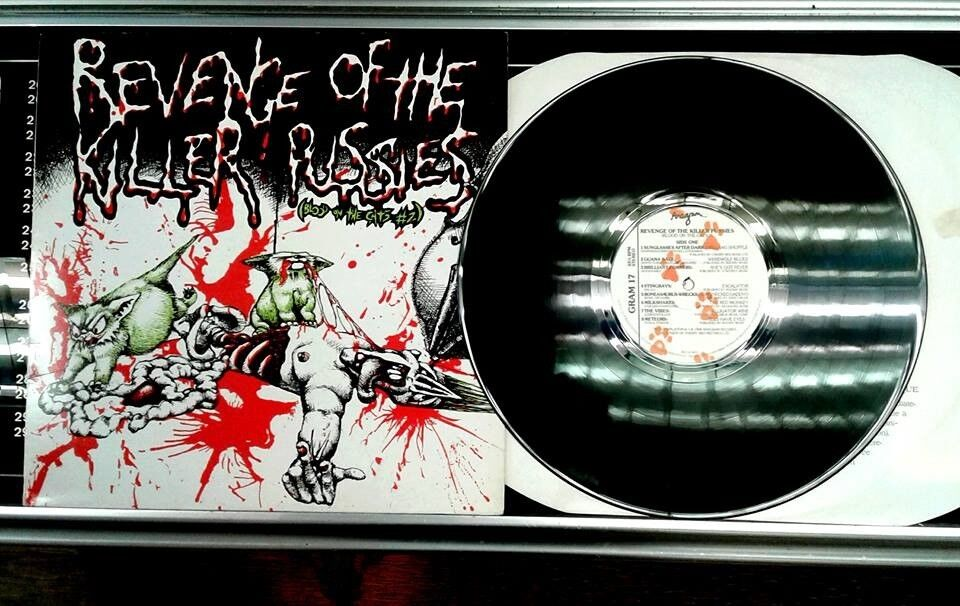 Various ‎– Revenge Of The Killer Pussies (Blood On The Cats 2), VG, Pyschobilly Garage Punk