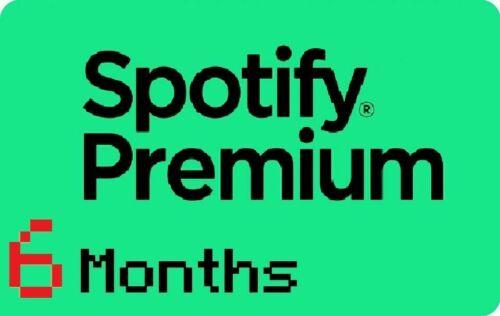 Spotify Premium / New / Worldwide / 180 days