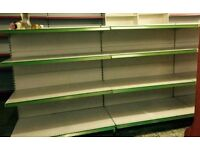 SHOP SHELVING USED GONDOLA 1200MM LONG