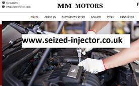 Seized Broken Injector and Glow Plug Removal Extraction Service Maidenhead Bracknel Woking Alton