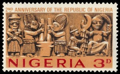 """NIGERIA 181 (SG169) - Independence """"Carved Frieze"""" (pa39559)"""