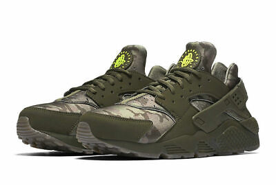 fd60821d5b4d Nike Air Huarache Run Camo Cargo Khaki Running shoes AT6156 300 size 11