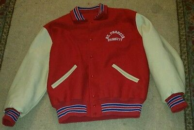 Letterman Jacket Sale (ST FRANCIS DE SALES High School Toledo OHIO Varsity BASKETBALL Jacket Size)