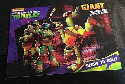 Teenage Mutant Ninja Turtles Giant Coloring And Activity Book