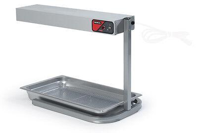 Nemco 6152-24 24in Countertop Infrared Bar Warmer On Base
