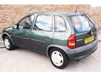 Cheap Insurance Vauxhall Corsa 1.2 Auto Automatic 5 Door Low Mileage (px yaris micra Fiesta focus)