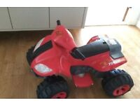 Childs Electric Quad bike AS NEW! Cost £150! Age 3+