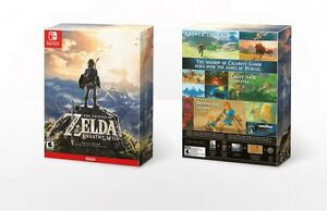 Legend of Zelda collector's edition Switch brand new sealed