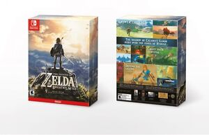 Legend of Zelda collector's edition Switch new sealed sceller