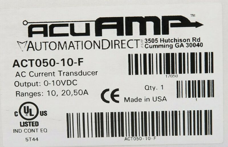 ACT050-10-F AcuAMP AC Current transducer