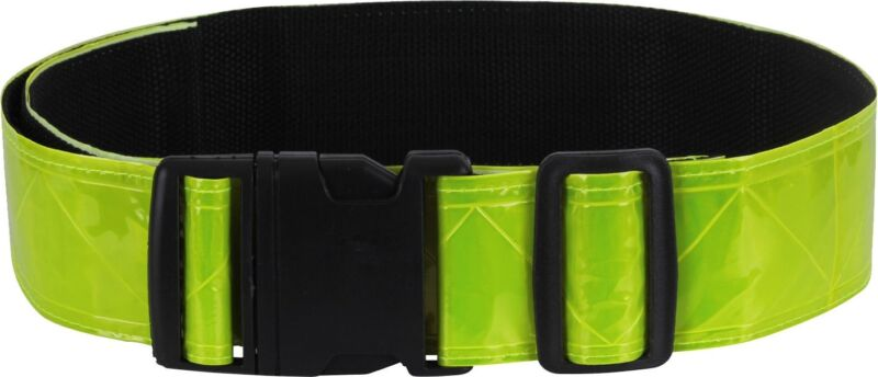 """Neon Green Hi Vis Reflective Safety Belt, Yellow US Army Military Running PT 2"""""""