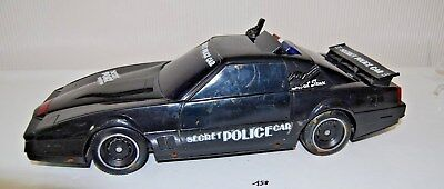 C158 Ancien jouet - voiture de police - Kuang Wu Toys - KW2205 - vintage - 1988