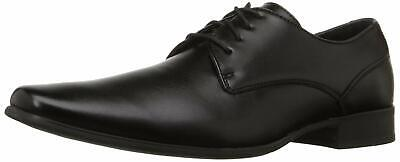 Calvin Klein Mens Brodie Lace Up Dress Oxfords, Black, Size 8.0 we6N