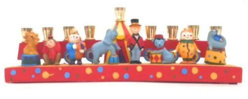 Circus Menorah Hanukkah For Kids