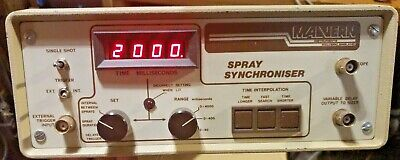 Malvern Benchtop 3-range 0-4000ms Digital Display Lab Spray Synchroniser Unit