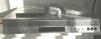 Toshiba SD-24 VE DVD-Player/VHS-Rekorder-Kombination Silber mit fernbedienung