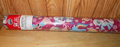 MY LITTLE PONY WRAPPING PAPER ROLL GIFT CHRISTMAS HOLIDAY 40 SQ FEET NEW STYLE