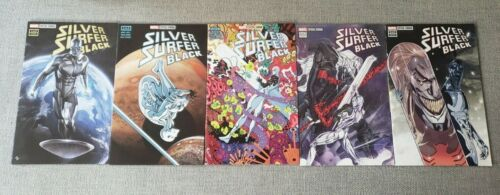 Silver Surfer Black 1,2,3,4,5 - Includes Peach Momoko Variant - MEXICAN EDITIONS