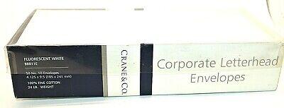 Crane Co.-corporate Letter Envelopes-50 10-bb811e-flourescent White-24lb Wt