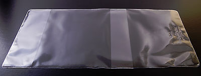 10x PAPERBACK BOOK COVERS clear plastic MEDUIM SIZE