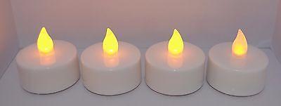 4 Led Timer Teelicht Kerzen flammenlose Kerzen Batterie Teelichter flackernd