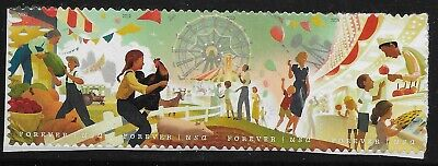 US Scott #5401-04, Strip of 4 2019 County Fairs VF MNH