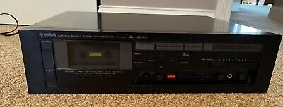 Yamaha K-1000 3-head cassette deck, vintage 1982 TESTED AND WORKING !
