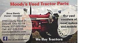 Moody's Used Tractor Parts
