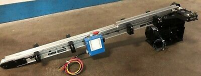2100 Dorner Series Flat Belt Conveyor 2 X 48 W Bodine 301 1 Ph 115v Motor
