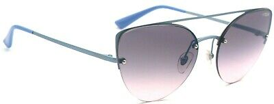 Vogue Damen Sonnenbrille VO4074-S 5077H9 57mm blau cat eye randlos 278 13