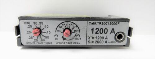 GE GENERAL ELECTRIC TR20C1200GF 1200A RATING PLUG